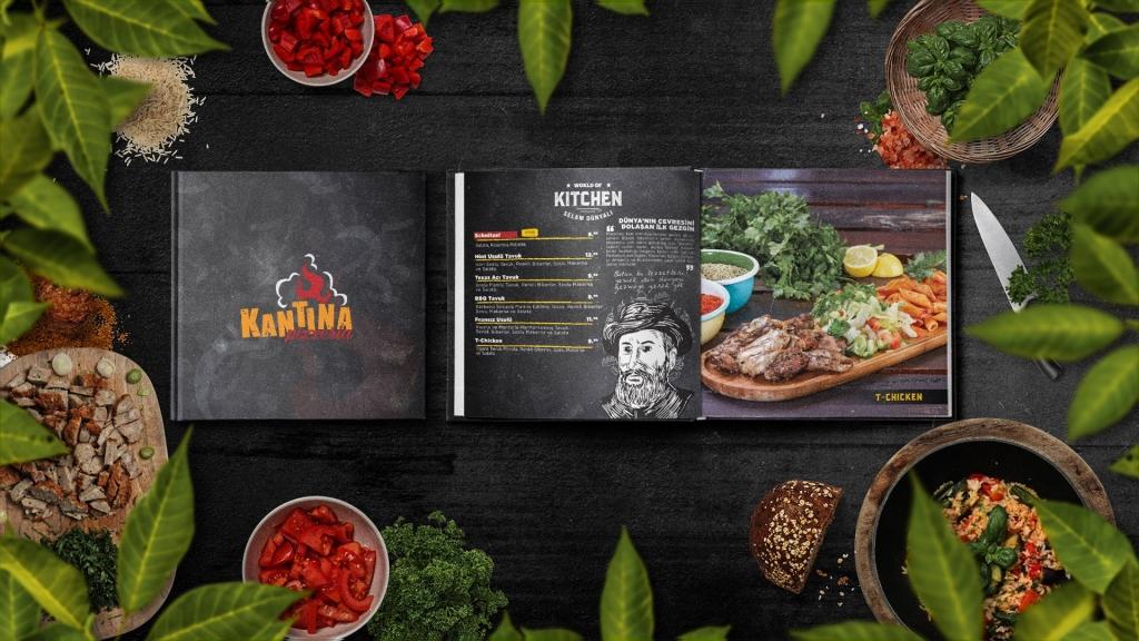 Kantina Pizzeria – Menü
