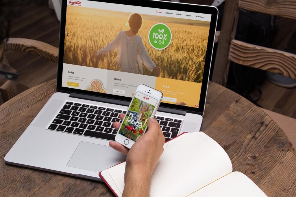 Kappadokia Gıda – İnternet Sitesi