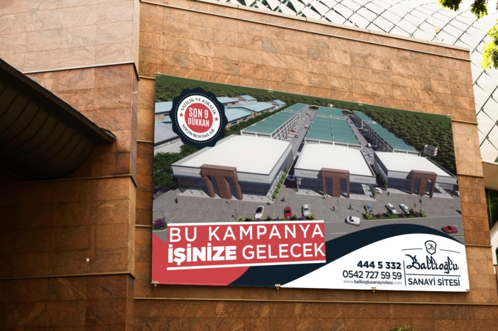 Ballıoğlu Sanayi Sitesi – Faiz Reklamı